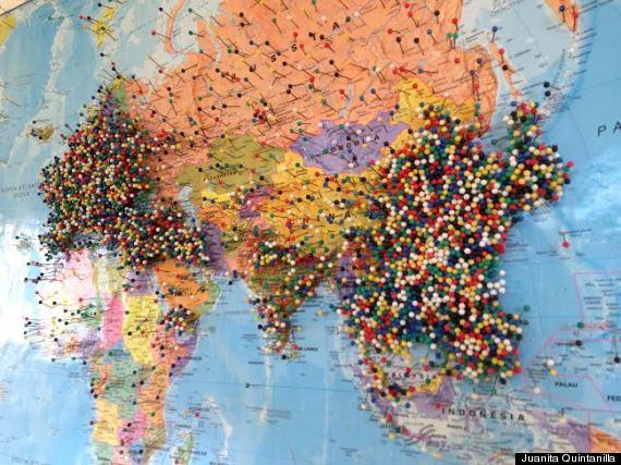 world pin map - Goalgoodwinmetals - pins on a map