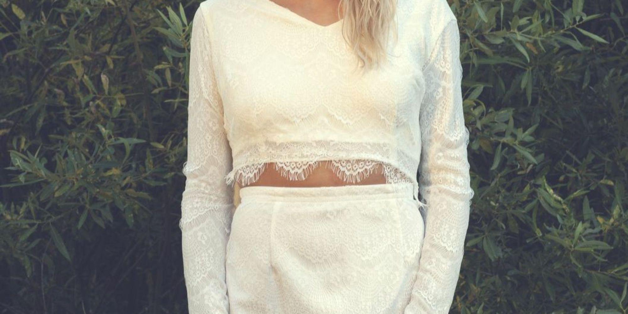 crop top wedding dresses n crop top wedding dress