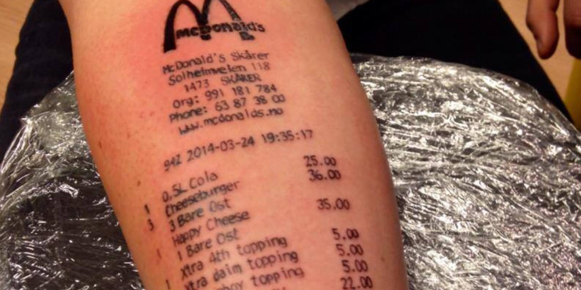 Mcdonald Tattoo