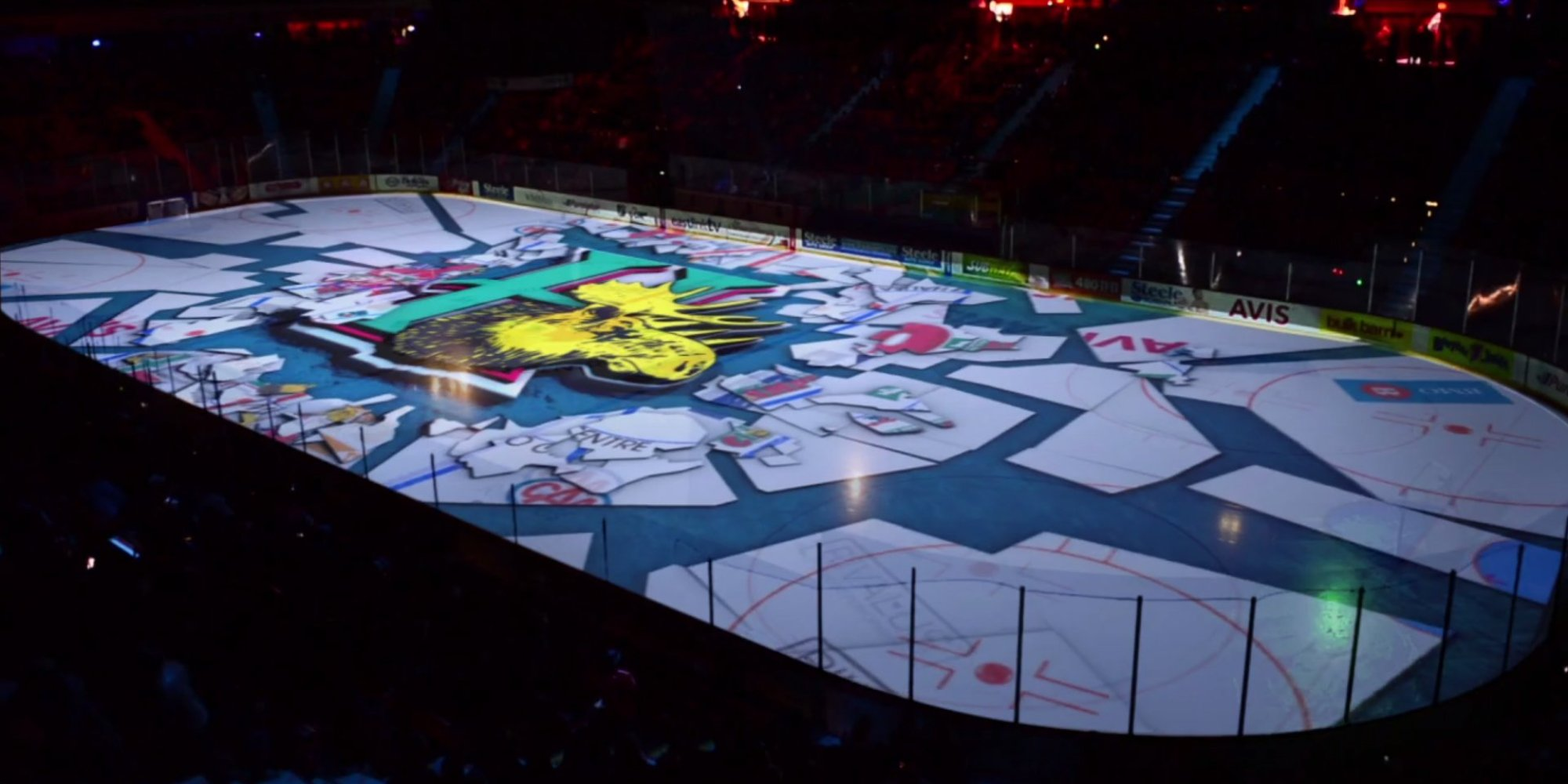 3d Wallpaper Pool Table This Hockey Team S Pregame Show Will Melt Your Brain