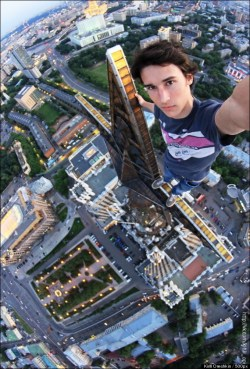 Russian daredevil Kirill Oreshkin has taken the category of extreme ...