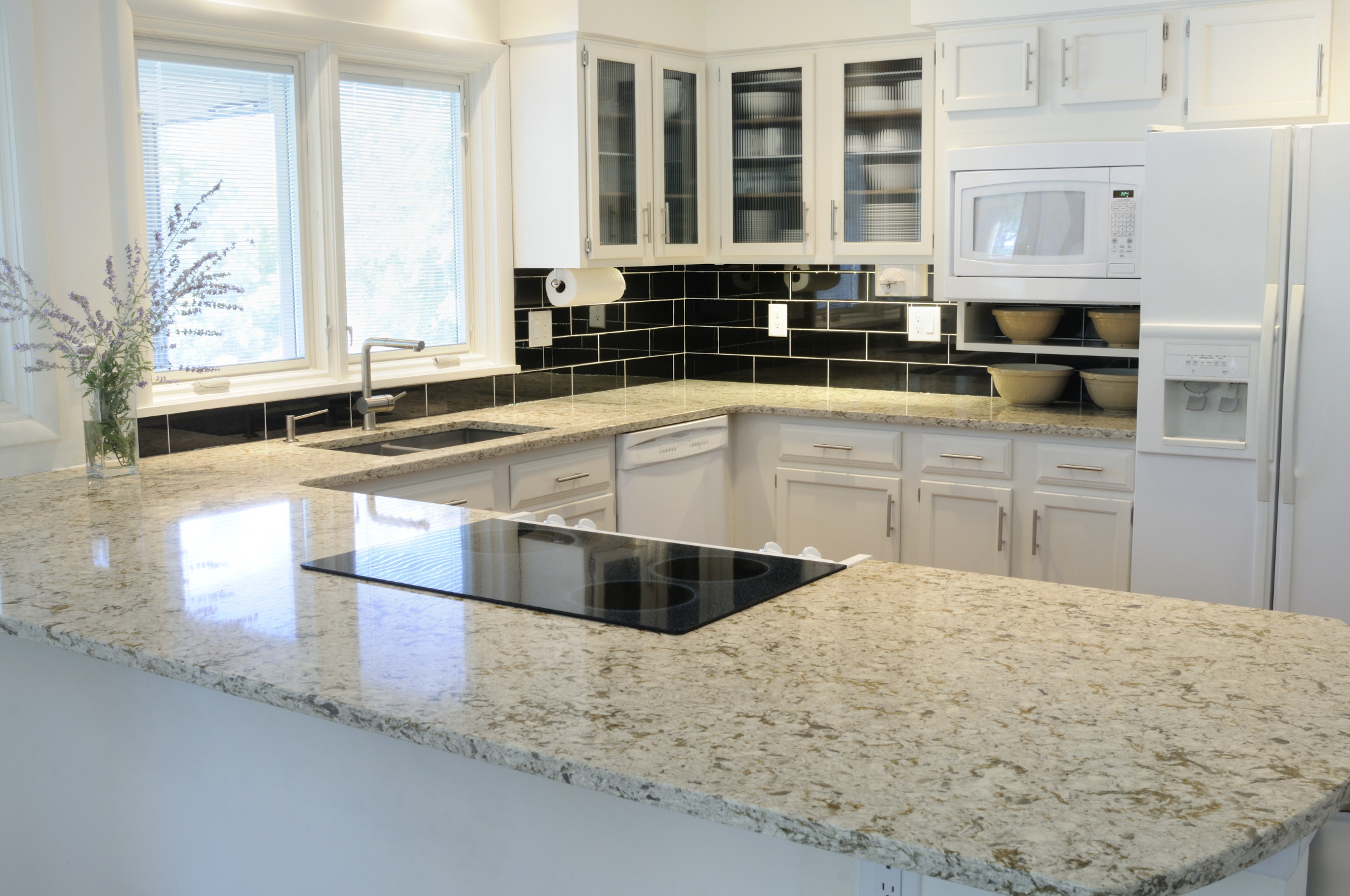 Granite Kitchen Countertops With White Cabinets 10 Reasons To Let Go Of The Granite Obsession Already Huffpost Life