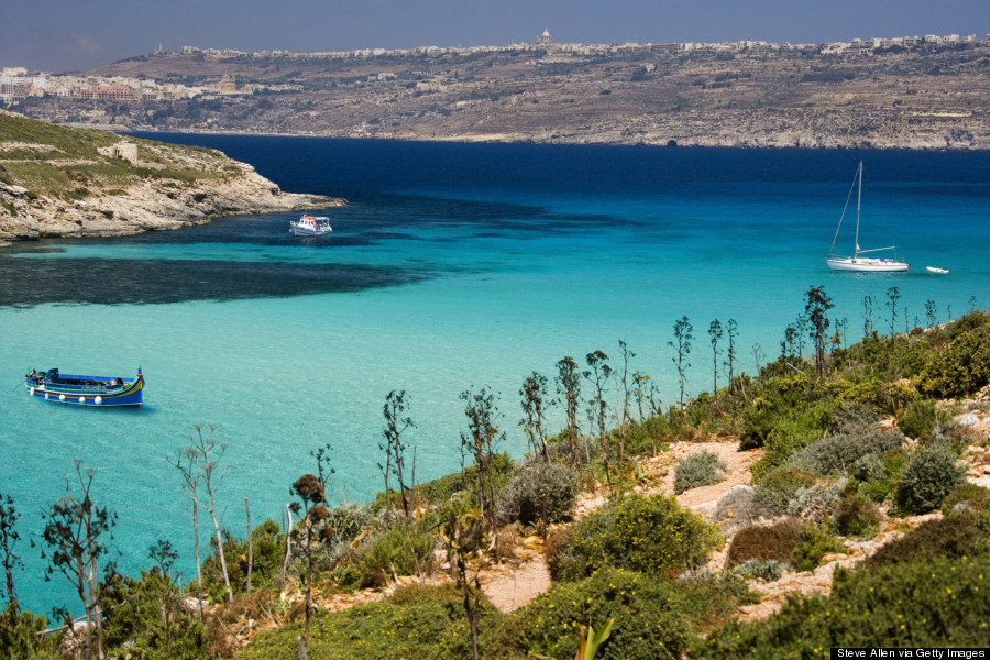 Comino Island In Malta Has A Blue Lagoon And It S Kind Of Heaven Huffpost - Camino Island Used