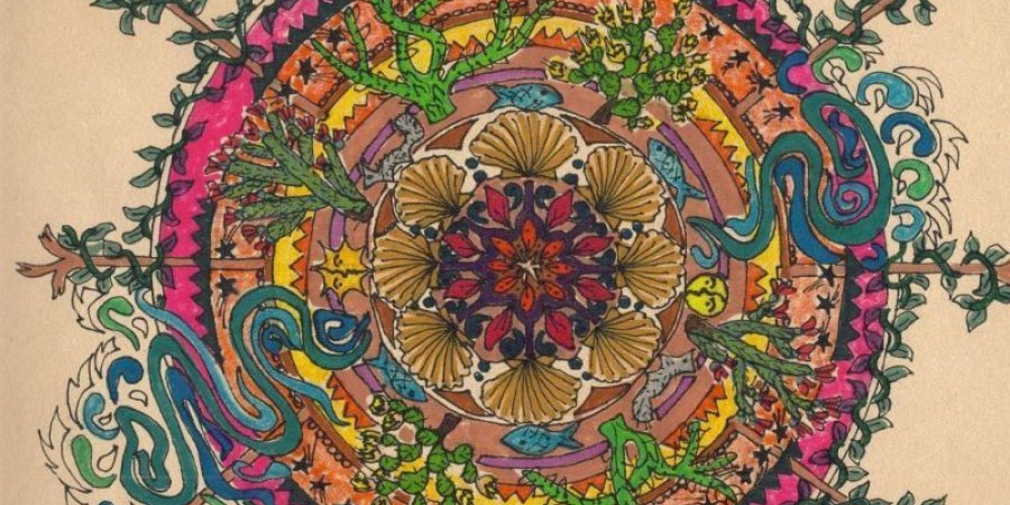 Libro Para Colorear Mandala Coloring Isn't Just For Kids. It Can Actually Help Adults