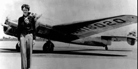 Amelia Earhart missing plane