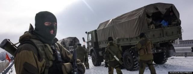 pro russian soldiers ukraine