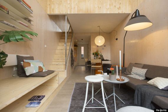 Smalle Woonkamer Inrichten These Brilliant Tiny Homes Can Be Built In A Day | Huffpost
