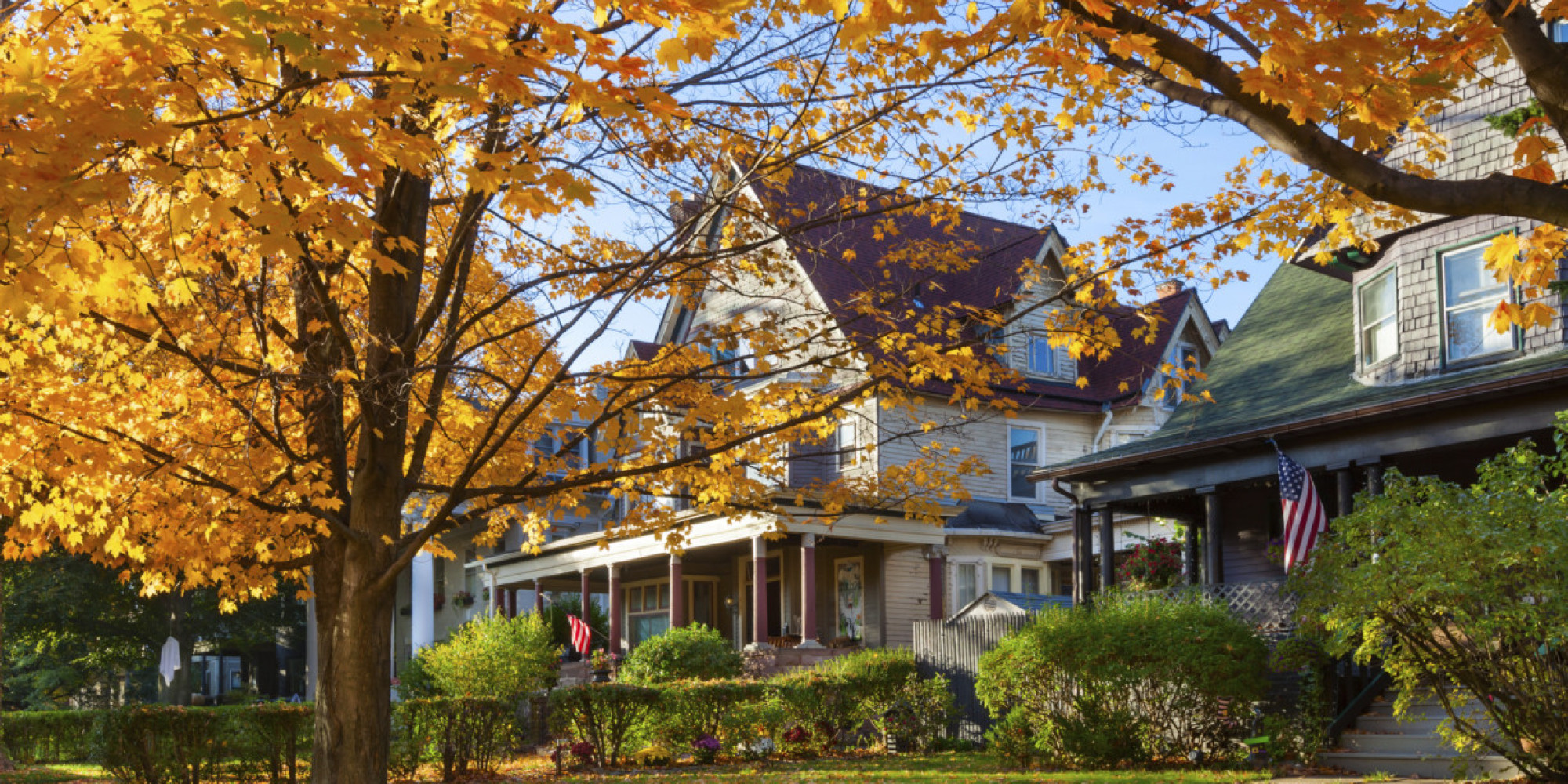 Wallpaper Images Of Fall Trees Lined Lake The 10 Most Beautiful Neighborhoods In America Ranked