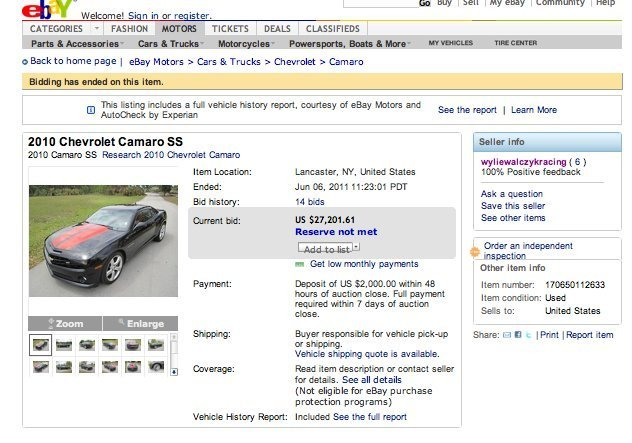 Man\u0027s eBay Sale Compares Car And Ex-Wife (PICTURE) HuffPost - car description