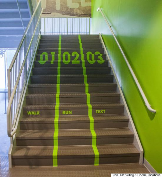 uvu stairs