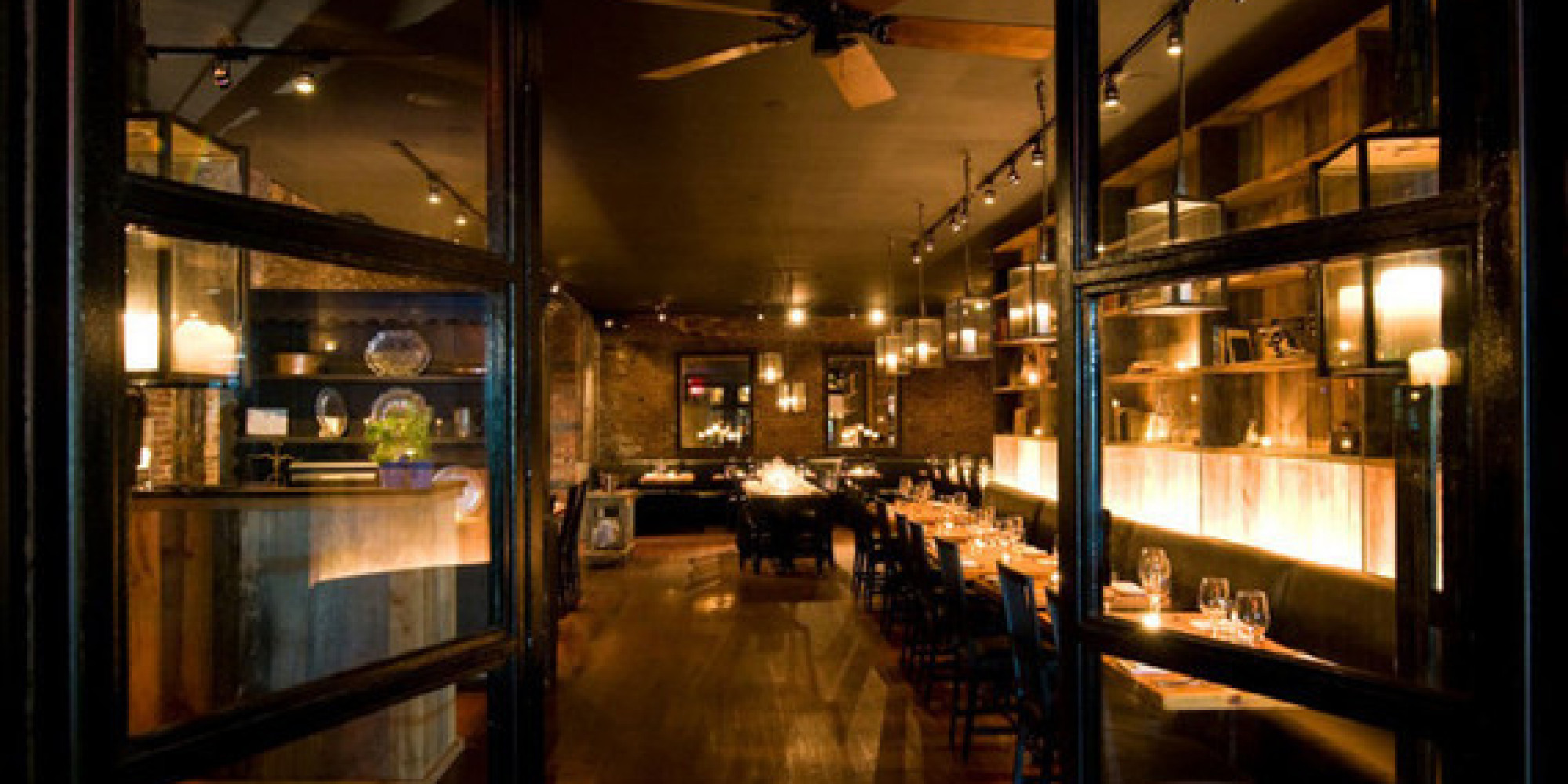 Restaurant A New York The Most Romantic Restaurants In New York City Huffpost