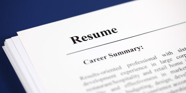 Resume Tips HuffPost - avoiding first resume mistakes