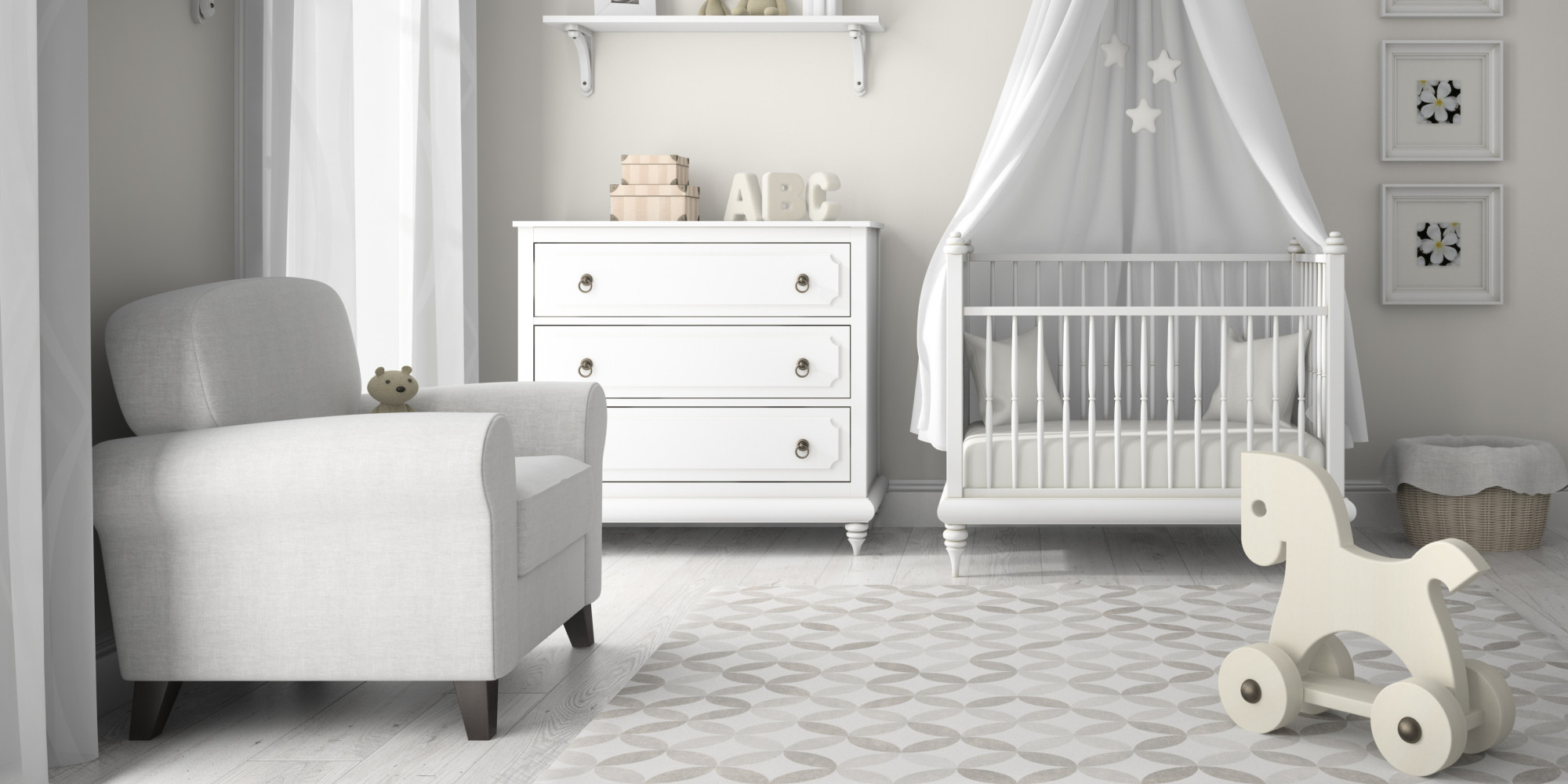 Baby Rooms How To Decorate Your Baby 39s Nursery In A Day Huffpost Uk