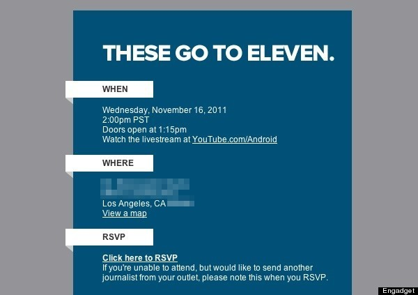 Google Music Event? Invitations Delivered For \u0027The Go To Eleven