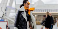 How To Wear A Scarf Like A Street Style Star | HuffPost