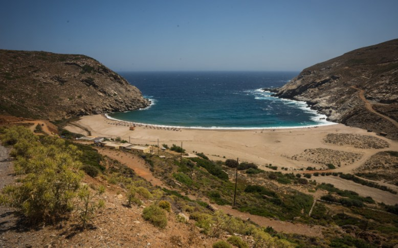 andros island beaches