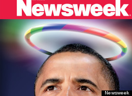 Newsweek Obama Gay Marriage Cover