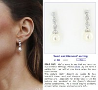 Kate Middleton Fake Earrings: Cubic Zirconia At The ...