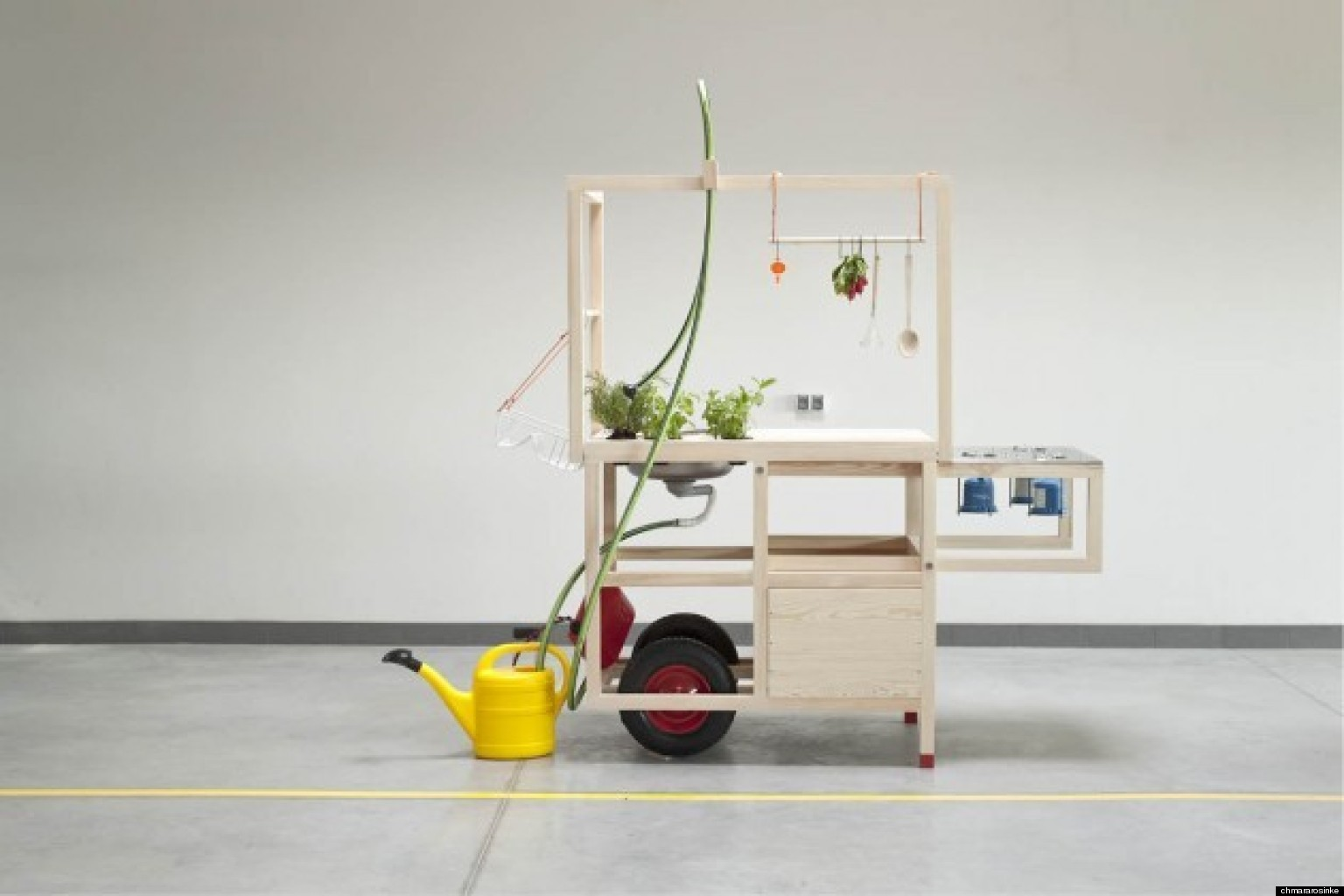 Mobiles Waschbecken Selber Bauen Mobile Kitchen: Now You Can Cook Anywhere (photo) | Huffpost