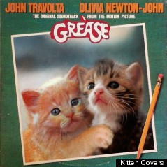 grease kitten album cover