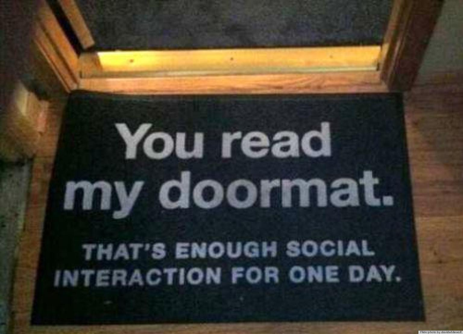 Doormat Funny 10 Funny Doormats That Completely Spoke Our Minds