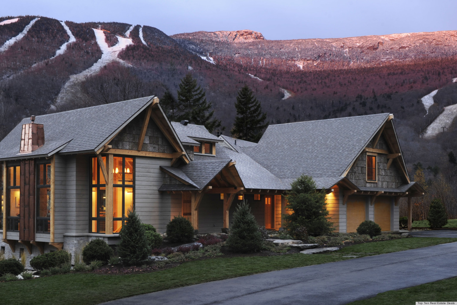 Hgtv dream home 2011 in stowe vermont on sale for 2 995 000 photos video huffpost