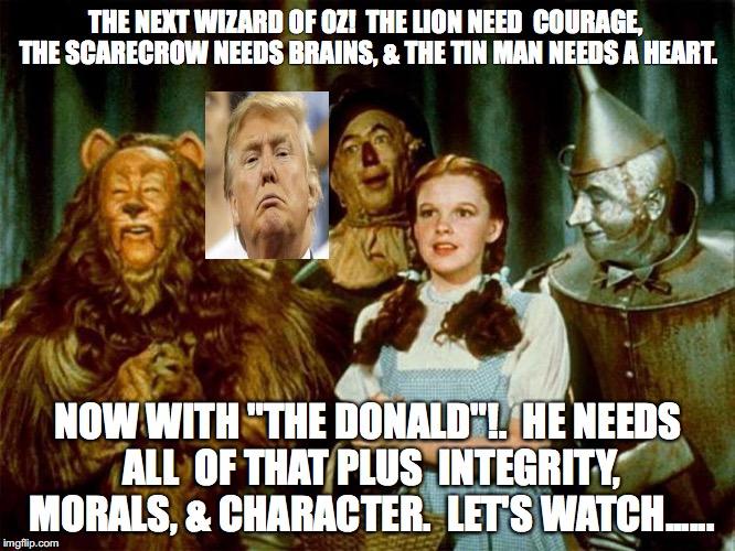 Trump In Oz Imgflip
