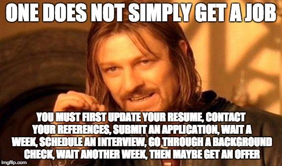 update resume meme