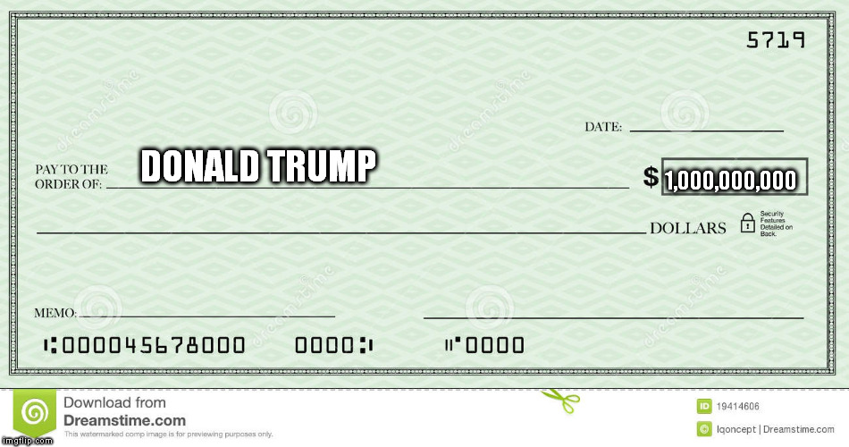 blank check Blank Template - Imgflip