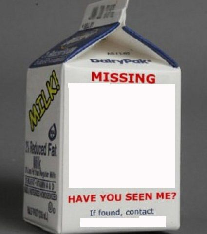 Milk carton Blank Template - Imgflip - Milk Carton Template