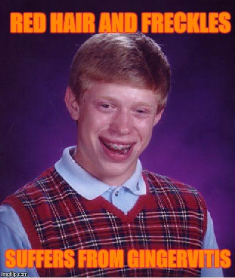Bad Luck Brian Meme - Imgflip - Gingervitis