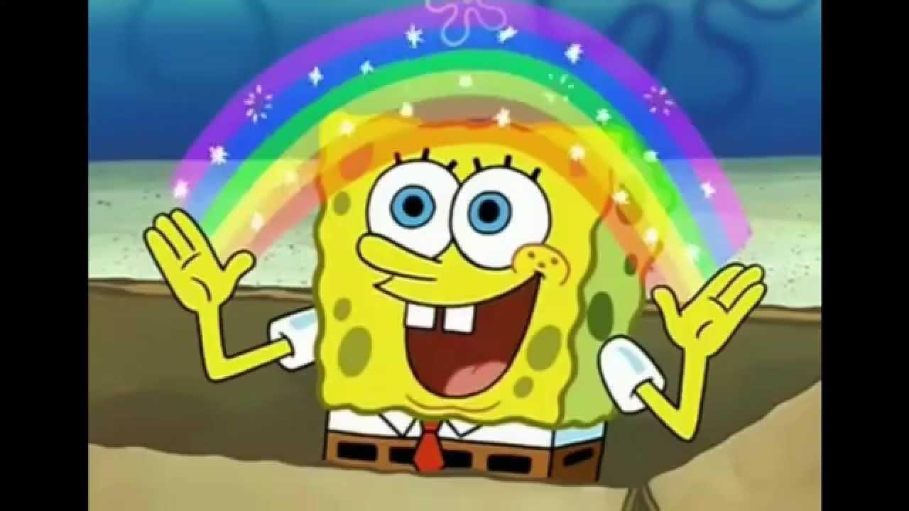 Cute Spongebob Squarepants Wallpaper Spong Bob Squarepants Imagination Blank Template Imgflip