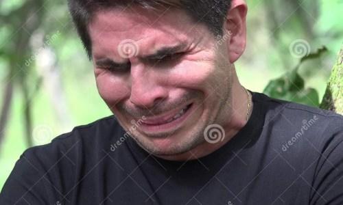 Medium Of Crying Man Meme