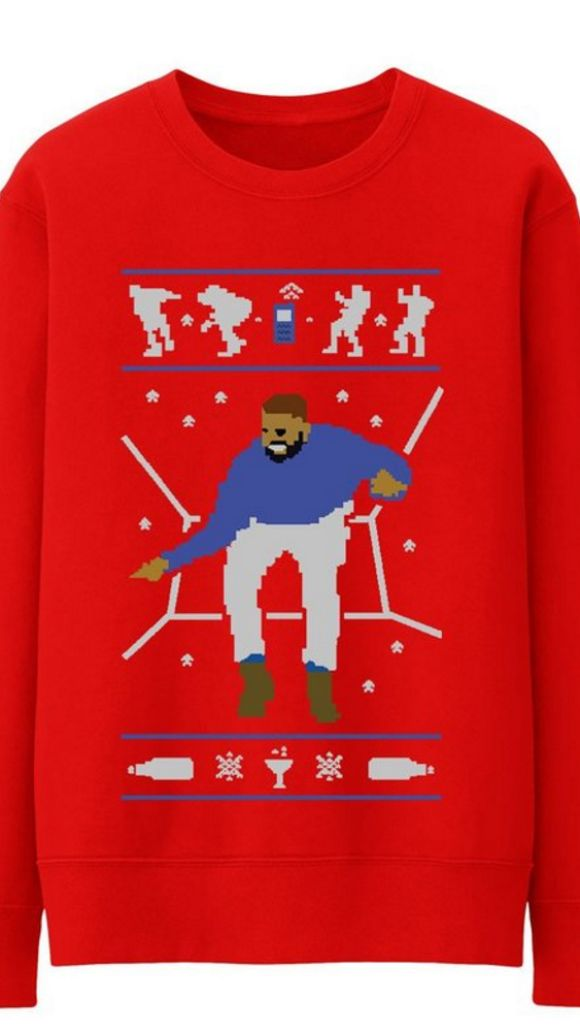 hotline bling ugly sweater Blank Template - Imgflip