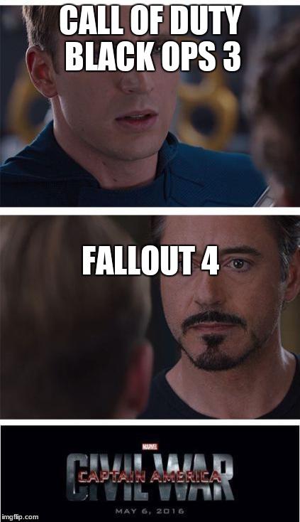 Call Of Duty Black Ops 3 Wallpaper Marvel Civil War 1 Meme Imgflip