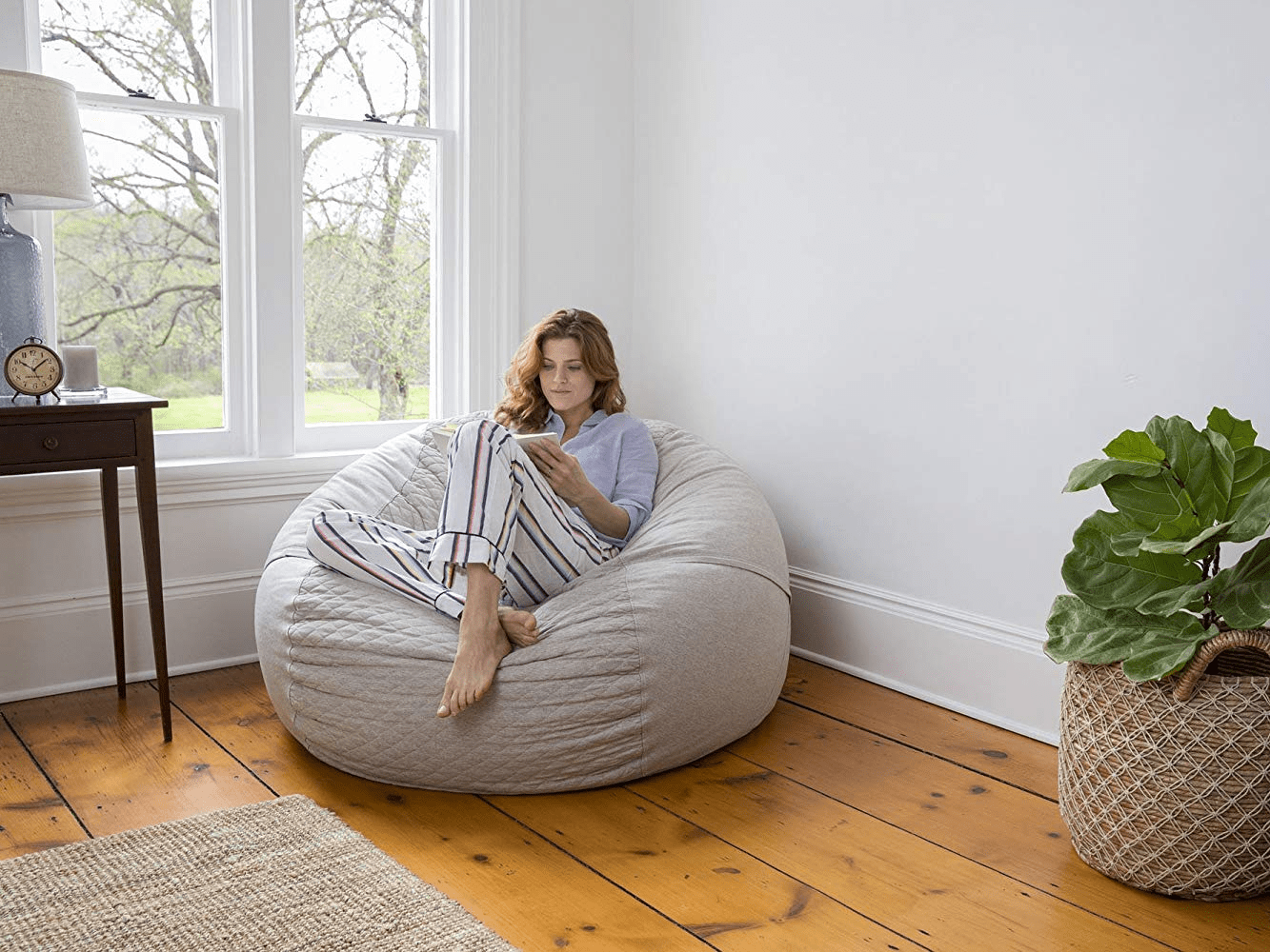 Best Bean Bag Chair In 2019 Big Joe Aloha Chair Tuft Needle More