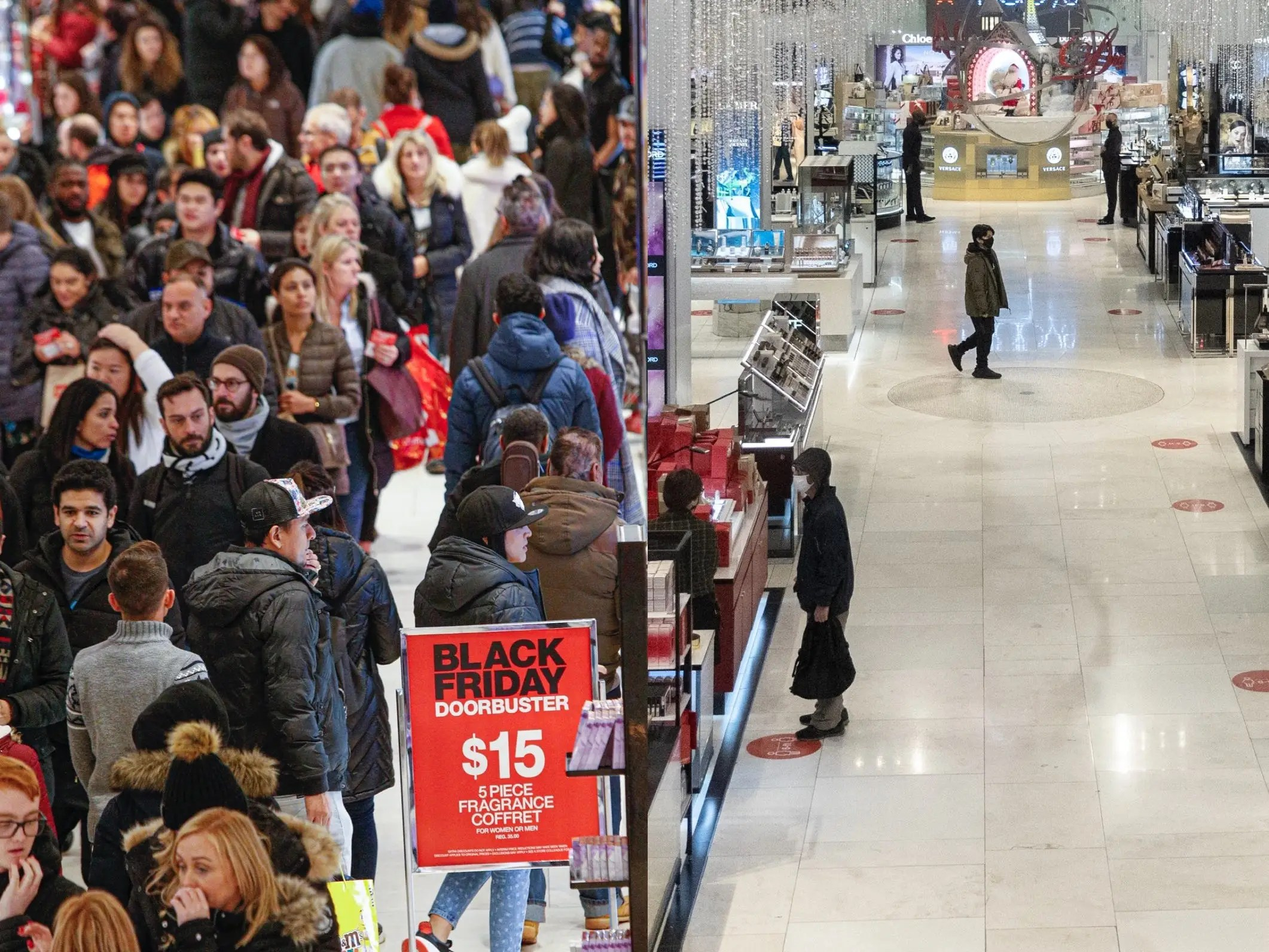 Macy S Black Friday 2020 Photos Versus Years Past In New York