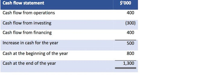 Cash Flow Statement Cash Flow from Investing and Financing - CFA