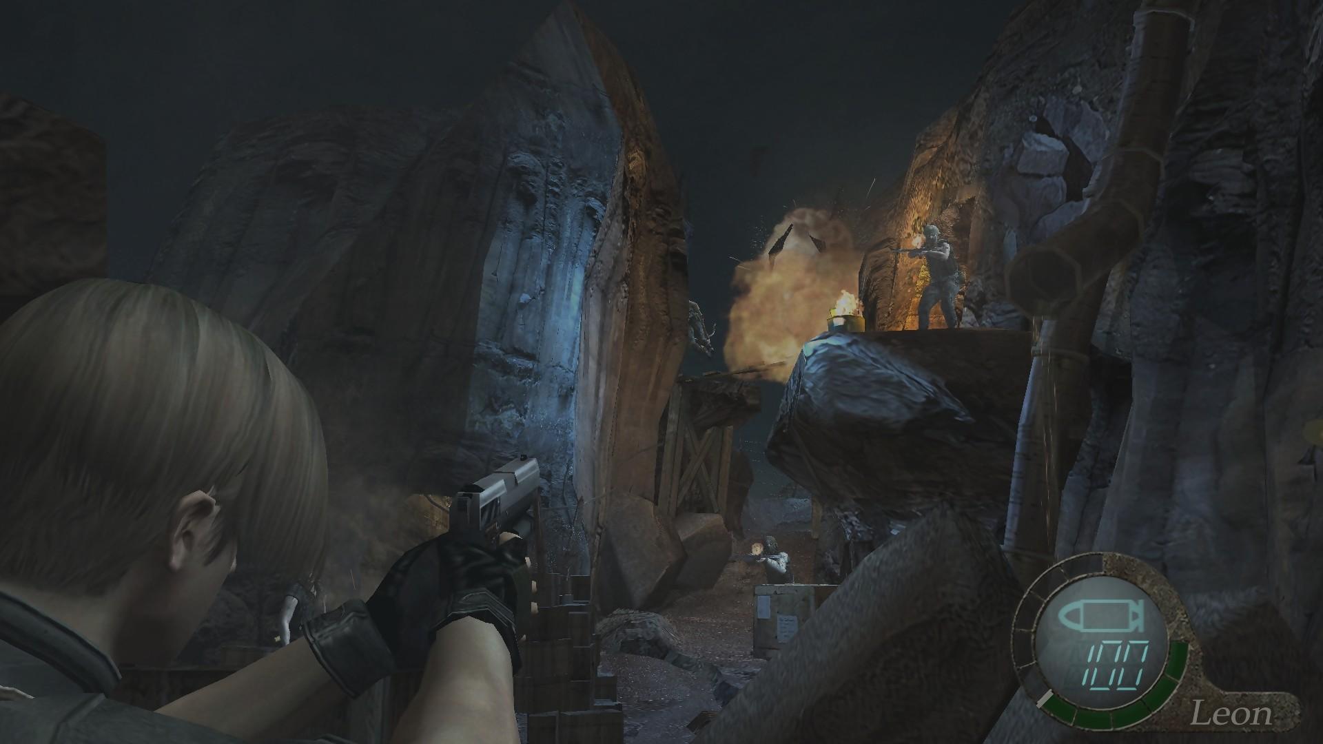 Leon S Kennedy Hd Wallpaper Resident Evil 4 Sur Ps4 Et Xbox One Voici Les Images Et
