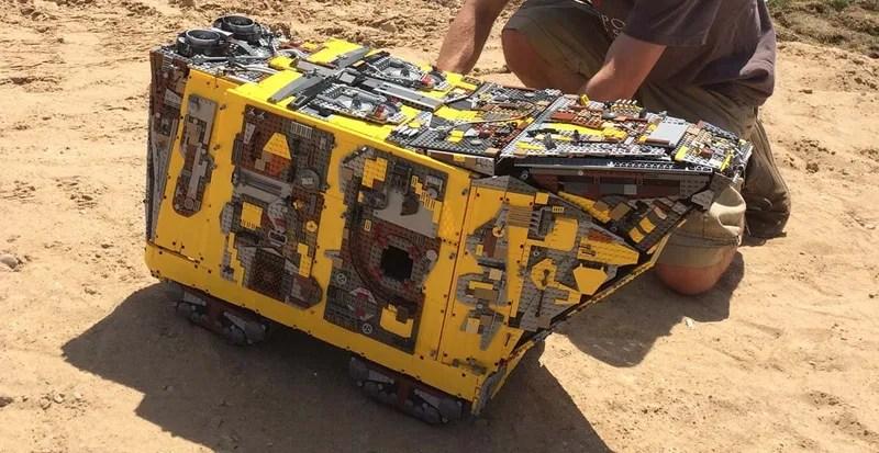 Behold This Massive 10,000-brick Lego Technic Star Wars \u0027Sandcrawler\u0027