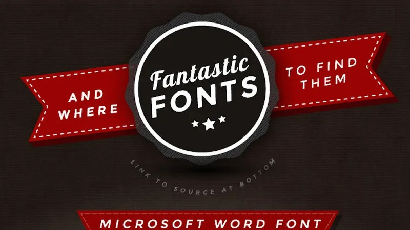 This Graphic Offers Good-Looking Fonts to Replace Dull, Overused Ones - best professional fonts