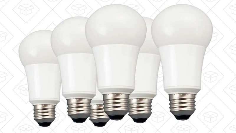Upgrade Six Light Fixtures to LED For Just $18, Courtesy of Amazon