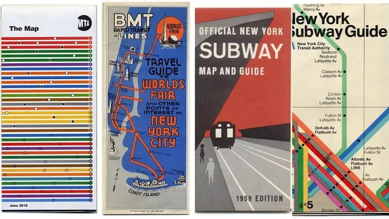 15 Subway Maps That Trace NYC\u0027s Transit History