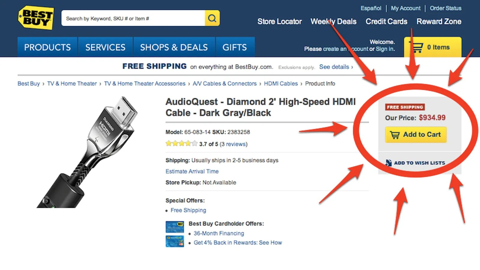 Buy Hdmi Best Buy Wants You To Spend 1000 On A Hdmi Cable
