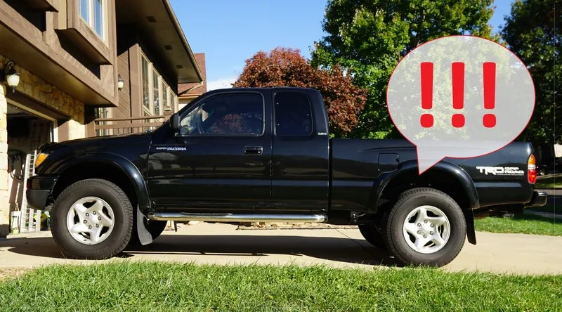 Here\u0027s How To Fix The Rear End Of An Old Toyota Tacoma