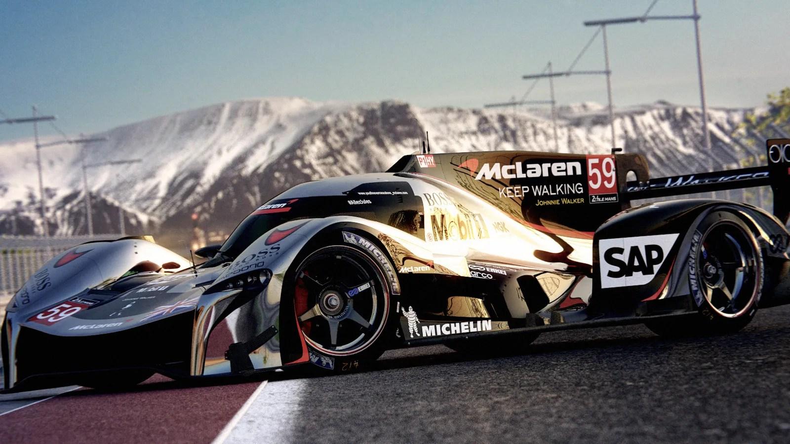 Aai 3d Wallpaper The Alternate Future Where Mclaren Races At Le Mans Would