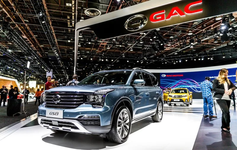 China39s Gac Which Has A Huge Display In Detroit Aims To