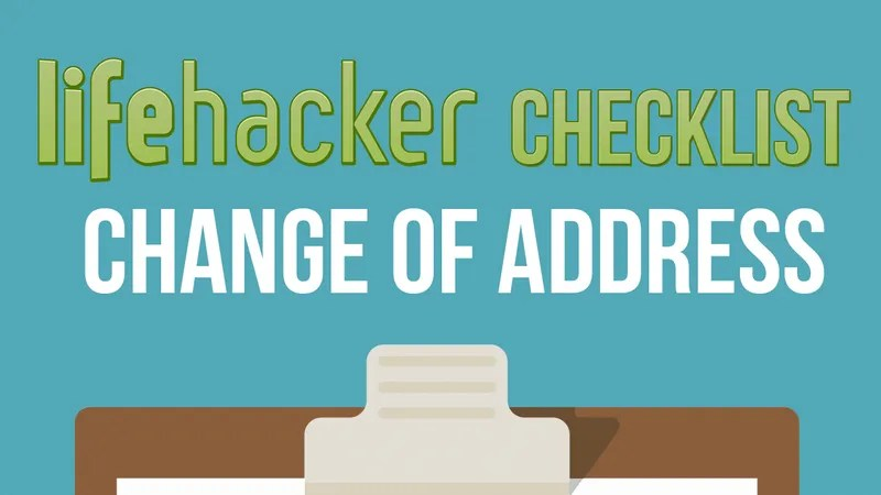 Change Your Address Everywhere On This Printable Checklist When You Move - Printable Address Change Form