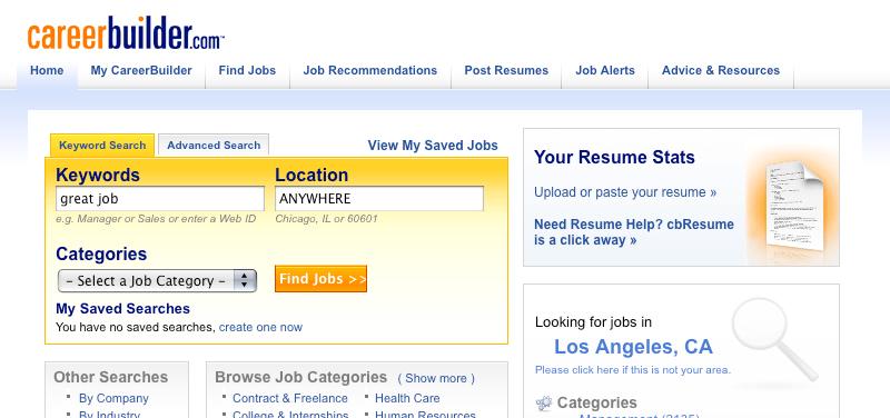 Job Search Websites List - livmoore.tk
