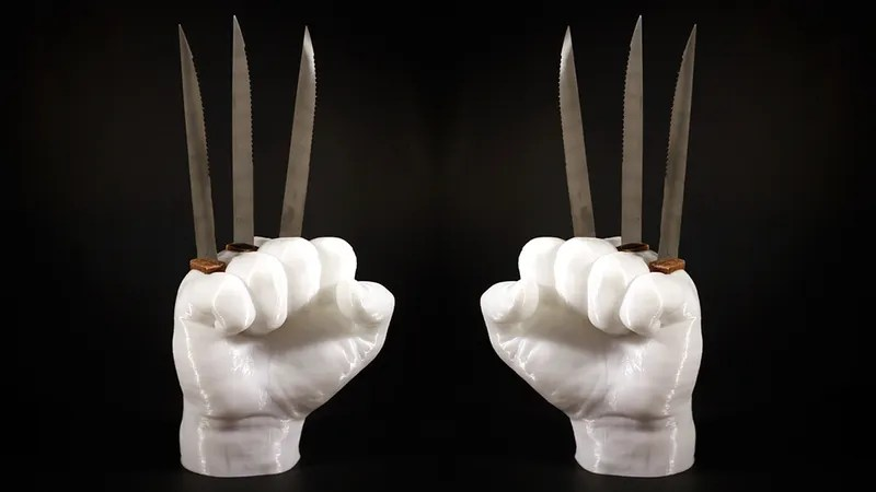 This Wolverine Knife Holder Is An Awesome And Incredibly